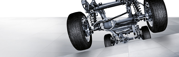 G-Class Cross Country Vehicle Drive System & Chasis Suspension