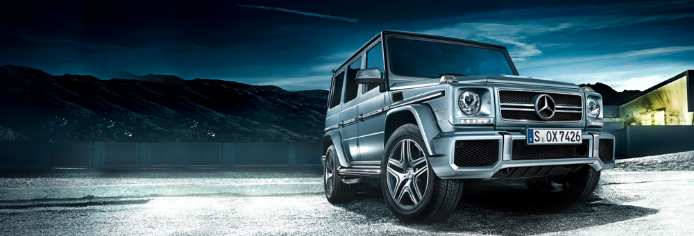 G-Class Cross-Country Vehicle