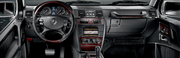 G-Class Cross Country Vehicle Drive System & Chasis Interior comfort