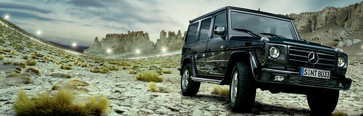 G-Class Cross Country Vehicle Drive System & Chasis Off-road capability