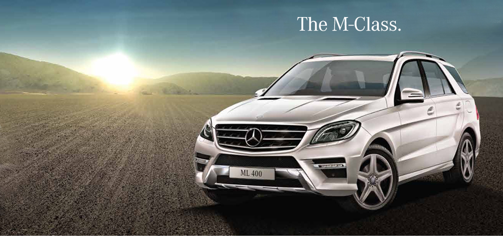 The new M-Class For those in control.
